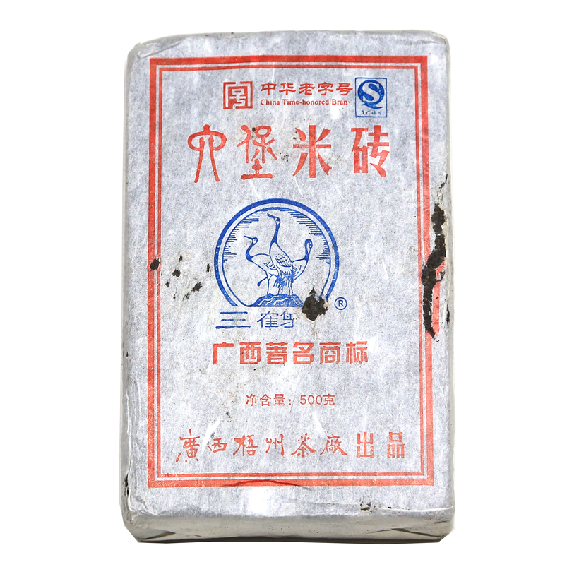Liubao Mi Zhuan 2009 brick hei cha