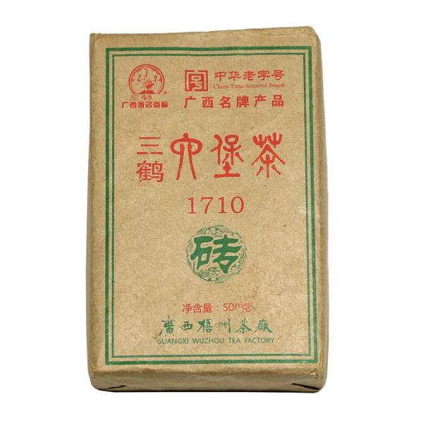 Liubao Mi Zhuan 2011 brick hei cha