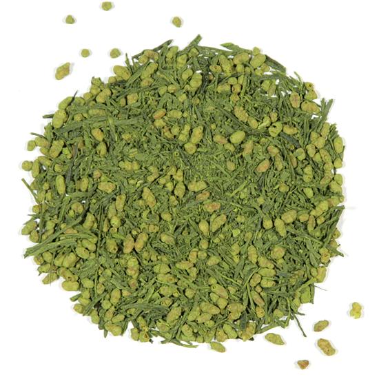 Genmaicha with Matcha green tea