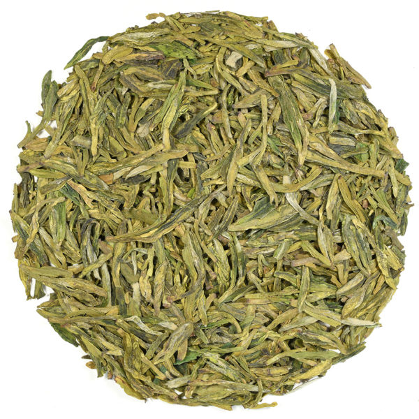 Longjing Weng-jia Shan green tea