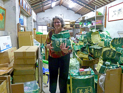 Tea Trekker owner Mary Lou Heiss © Tea Trekker, all rights reserved