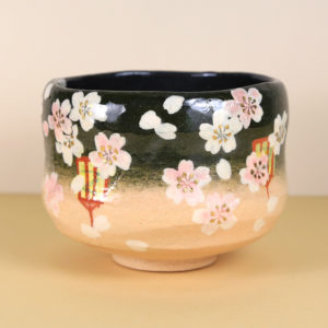 Flowers & Lanterns Matcha Bowl