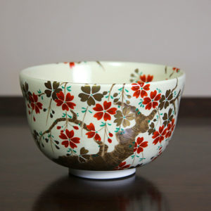 Flowering Branches Matcha Bowl