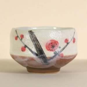 Mini Matcha Bowl - Cherry Blossoms on a Branch