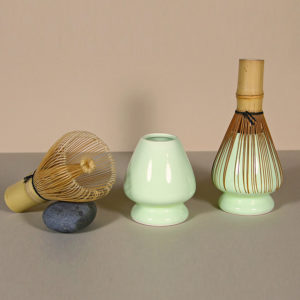 Matcha Whisk Keeper - Light Green