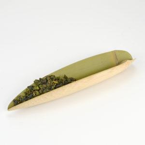 Tea Scoop - Green Bamboo