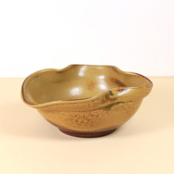 Yellow Japanese Yuzamashi (water cooling bowl)