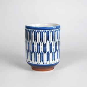Arrow Feather Pattern Teacup