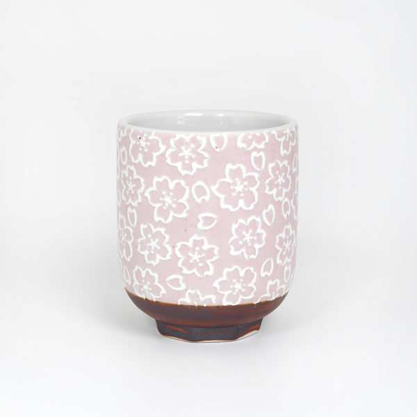 Blush Pink Sakura Japanese Teacup