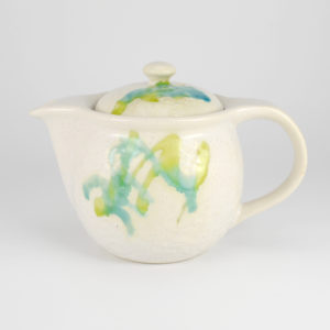 Colorful Flowing Glaze Teapot