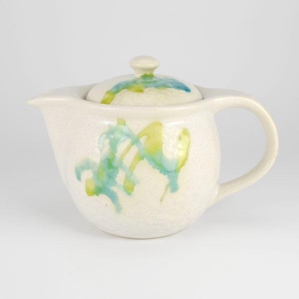 Colorful Flowing Glaze Teapot