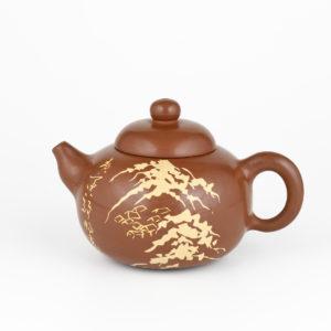 Jianshui Winding Path, Mountain Peaks Teapot