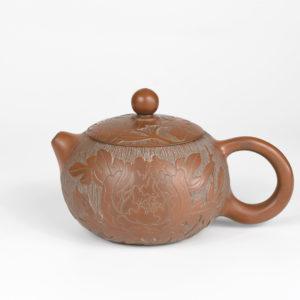 Qinzhou Nixing Hua Kai Fu Gui Xi Shi Teapot