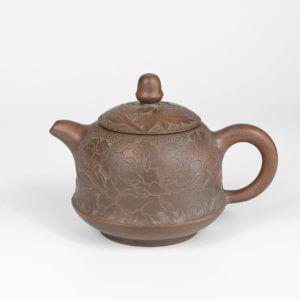 Qinzhou Nixing Hua Kai Fu Gui Xi Shi Jin Zhong Teapot