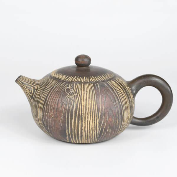 Qinzhou Nixing Wood Grain Teapot #2
