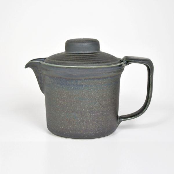 Black Iridescent Ore Teapot #2