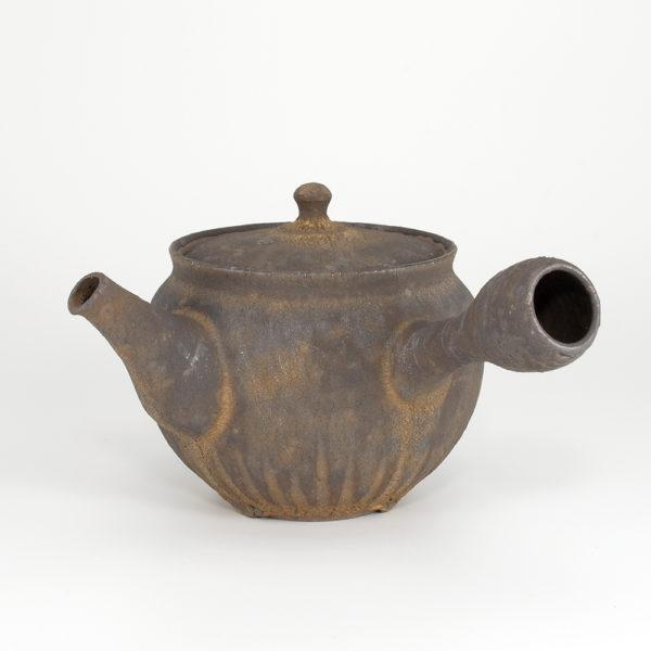 Tokoname Rusted Gold Finish Teapot