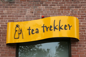 Tea Trekker Sign